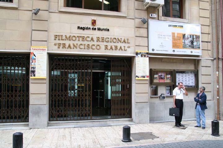 Resultado de imagen de filmoteca regional francisco rabal