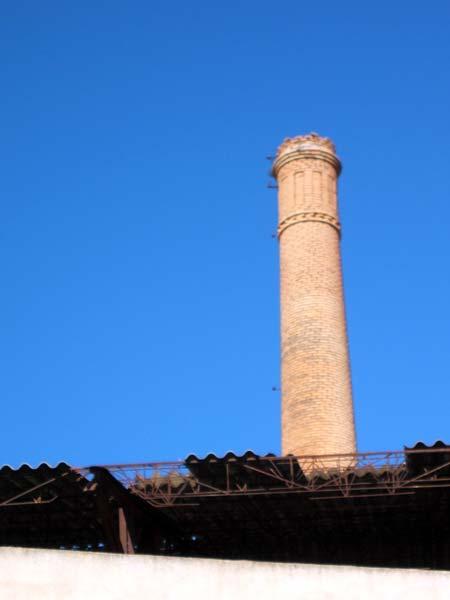 Chimenea de la f brica la molinera historia regi n de for Fabrica de chimeneas