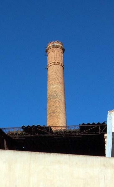 Chimenea de la f brica la molinera lbum de fotos regi n for Fabrica de chimeneas
