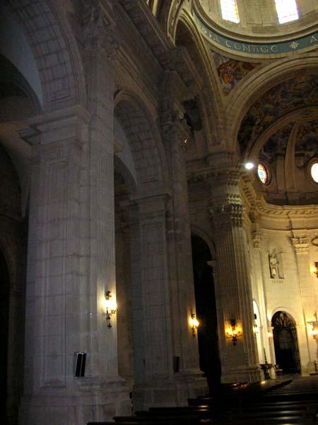 Iglesia de la pur sima arquitectura y zonas regi n de for Arquitectura interior sl