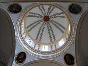 Cúpula [Iglesia de Santiago de Lorca]
