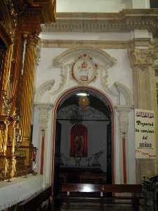 Detalles Interiores [Iglesia de Santiago de Lorca]