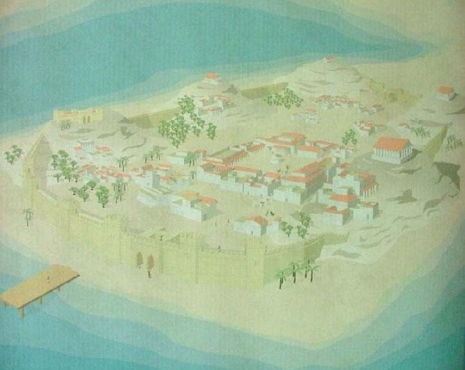 Plano de Qart Hadast (Recreación)