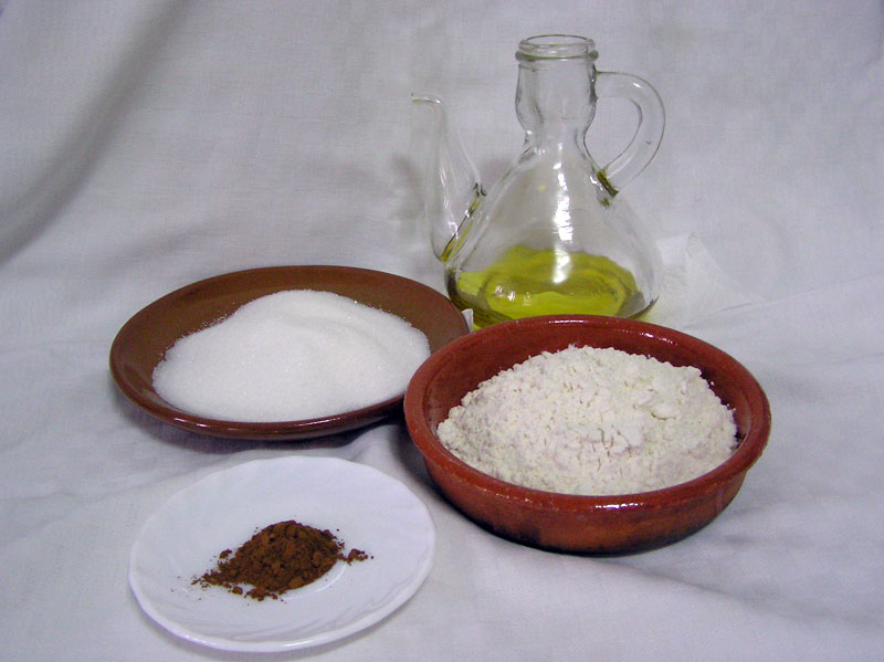 Ingredientes Tortas de Aceite