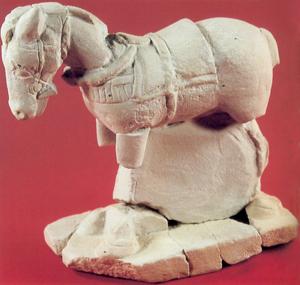 Exvoto de un caballo del Cigarralejo (Mula)