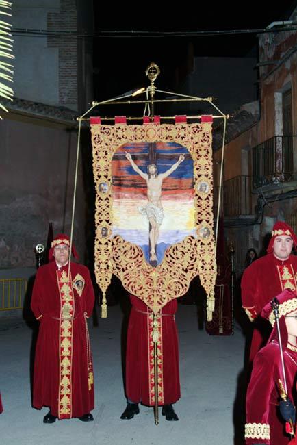 Estandarte del Cristo de la Sangre. Región de Murcia Digital
