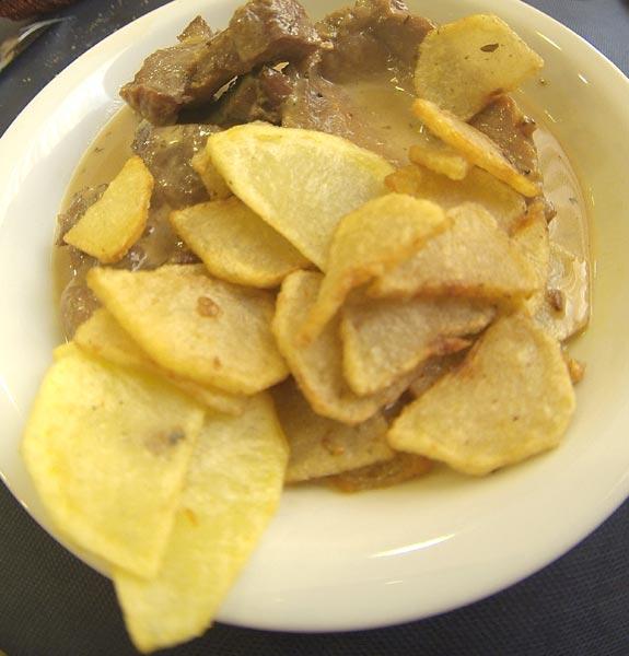 Patata gastronom a regi n de murcia digital for Corzo con patatas