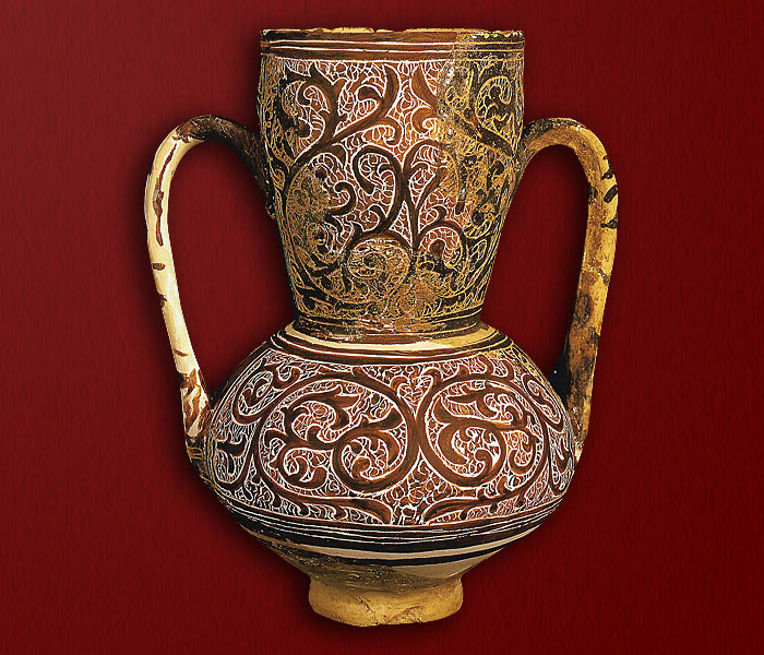 Cultura material medieval la cer mica cer mica for Tecnicas para esmaltar ceramica