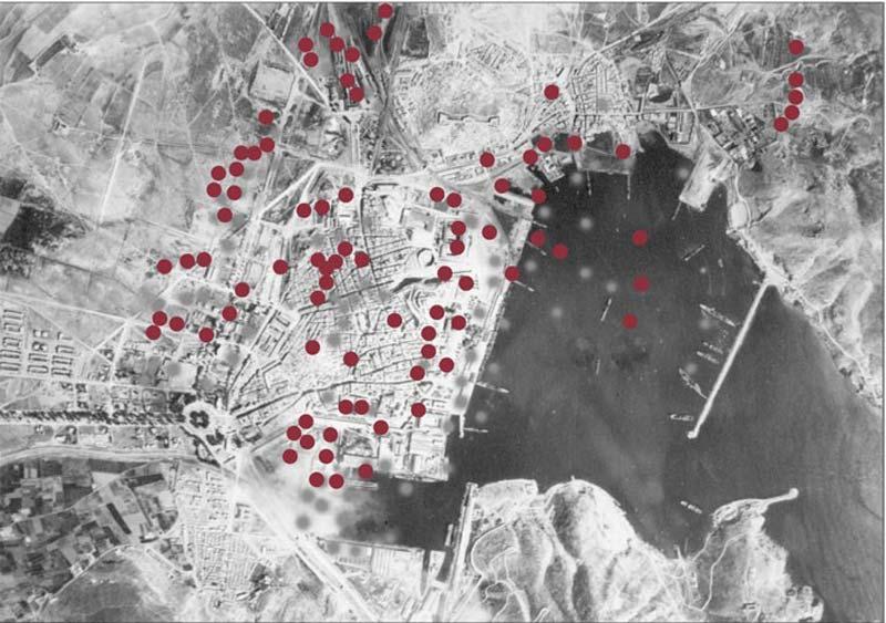 Bombardeo de las 4 horas: impactos en Cartagena