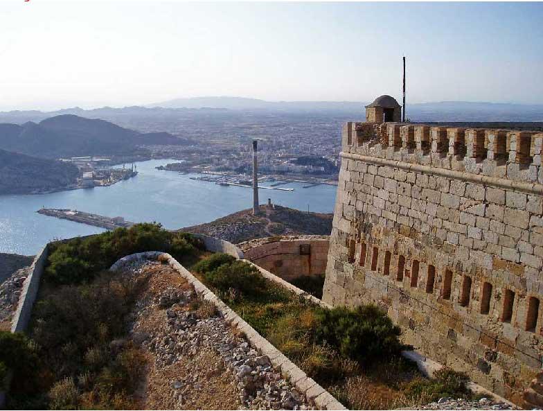 Resultado de imagen de castillo de san julian cartagena